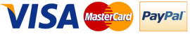 ApricotKing proudly accepts Visa, Mastercard and PayPal