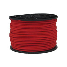 "3/16"" Polyester Bungee Shock Cord Red"