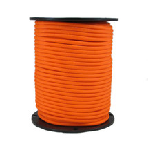 "1/4"" Polyester Bungee Shock Cord Neon Orange"