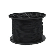 "1/8"" Kevlar Cord with Polyester Jacket Black"