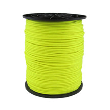 "1/8"" Stringline 1,000 ft spool - Neon Yellow Polyester with Aramid Reinforced Core"