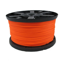 "1/8"" Stringline 2,000 ft spool - Neon Orange Polyester with Aramid Reinforced Core"