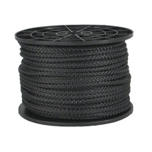 "3/16"" Reflective Polyester Rope Black"