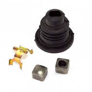 '76-'86 CJ Lower Steering Shaft Boot Kit