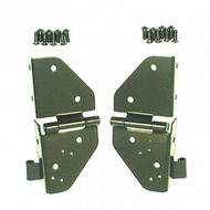 '76-'95 CJ/YJ Black Windshield Hinges