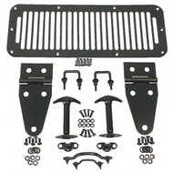 '76-'95 CJ/YJ Black Hood Kit