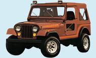 '85-'86 CJ Renegade Decal Kit