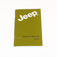 1986 CJ Factory Owners Manual
