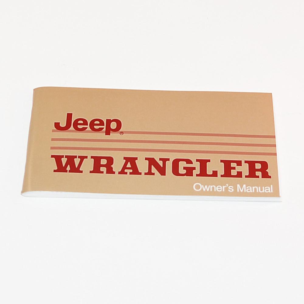 88 89 yj factory owners manual cbjeep rh collinsbrosjeep com jeep wrangler yj repair manual jeep wrangler yj user manual