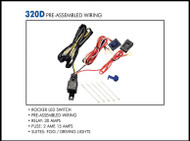 Pre-Assembled Two Light Wiring Kit