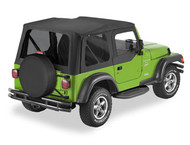 '97-'06 TJ Factory Replacement Top w/Upper Doors & Tinted Windows