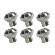 '76-'86 CJ Aluminum Dash Knob Kit (6 pcs)