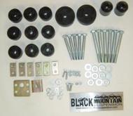 """'97-'06 TJ BLKMTN 1"""" Body Lift Kit"""