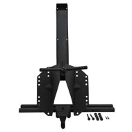 '07-Current JK BLKMTN Heavy Duty Tailgate Tire Carrier