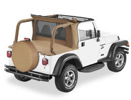 '97-'02 TJ Half Top for Jeeps w/factory Hardtop