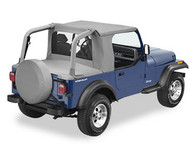 '92-'95 YJ Halftop (Black Denim)