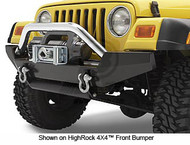 '87-'06 YJ/TJ HighRock 4X4 Tubular Grill Guard  (Stainless)