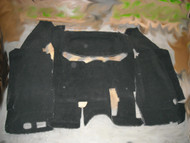 '07-'10 JK Unlimited Rear Carpet Set (Black)