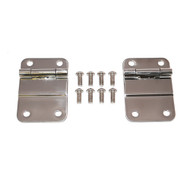 '76-'86 CJ7/8 Stainless Steel Tailgate Hinge Kit