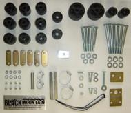 """'97-'06 TJ BLKMTN 2"""" Body Lift Kit"""