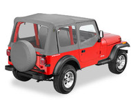 '88-'95 YJ Replace-a-Top w/upper door skins & clear windows