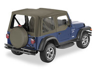 '03-'06 TJ Replace-a-Top w/upper door skins & clear windows
