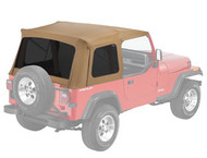 '76-'95 CJ/YJ Supertop Replacement Skin w/Tinted Windows