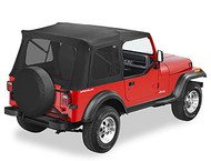 '76-'95 CJ/YJ Supertop, No doors, w/tinted windows
