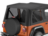 '97-'02 TJ Tinted Window Kit for Replace-a-Top & OEM Soft Top