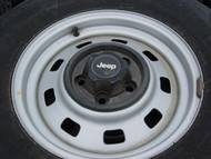 Base TJ/YJ Steel Wheel