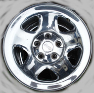 Jeep Wrangler Chrome Rim w/ Chrome Center Cap