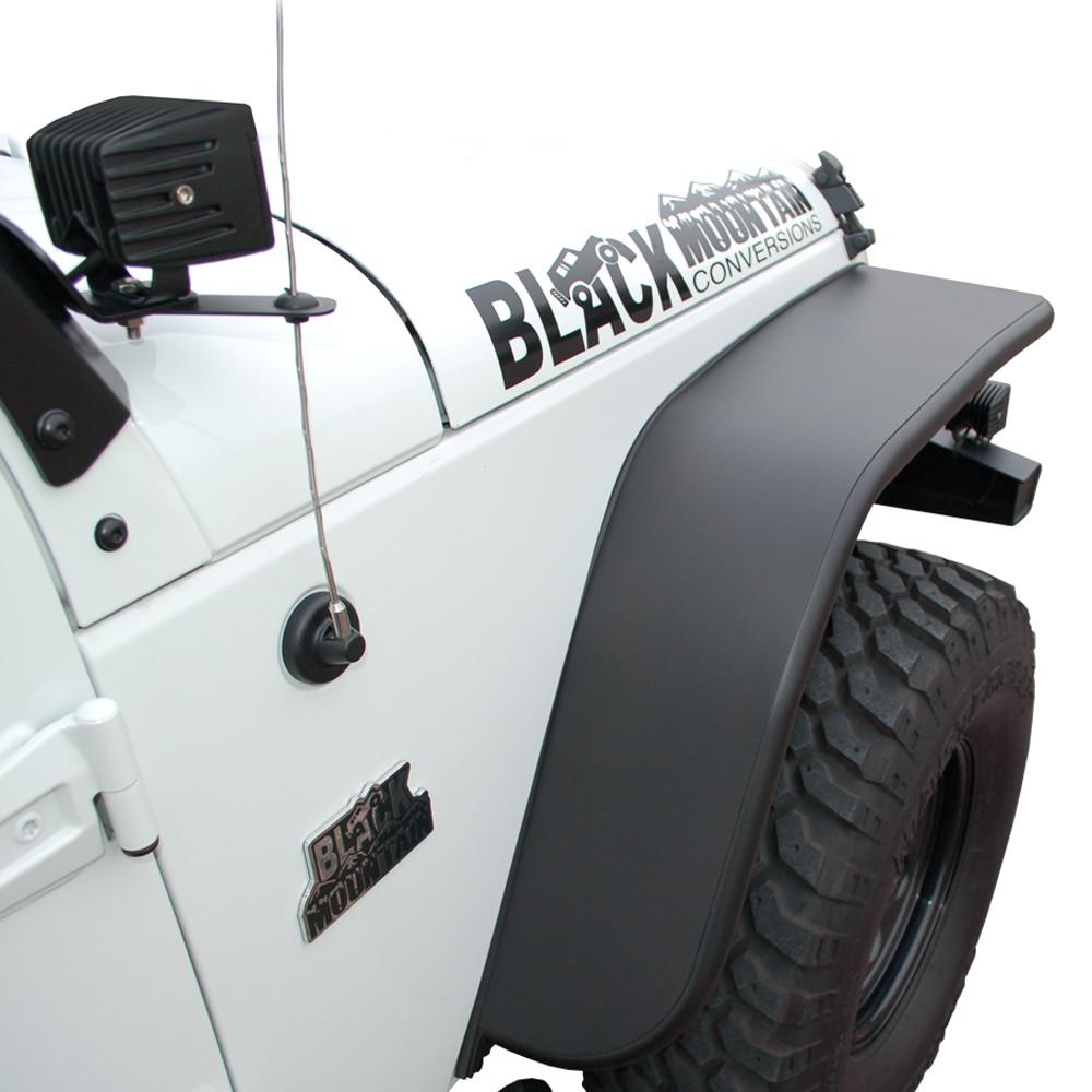 Black Mountain Jeep: BLKMTN Steel Fender Flares
