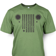 American Grill Tee - Army Green