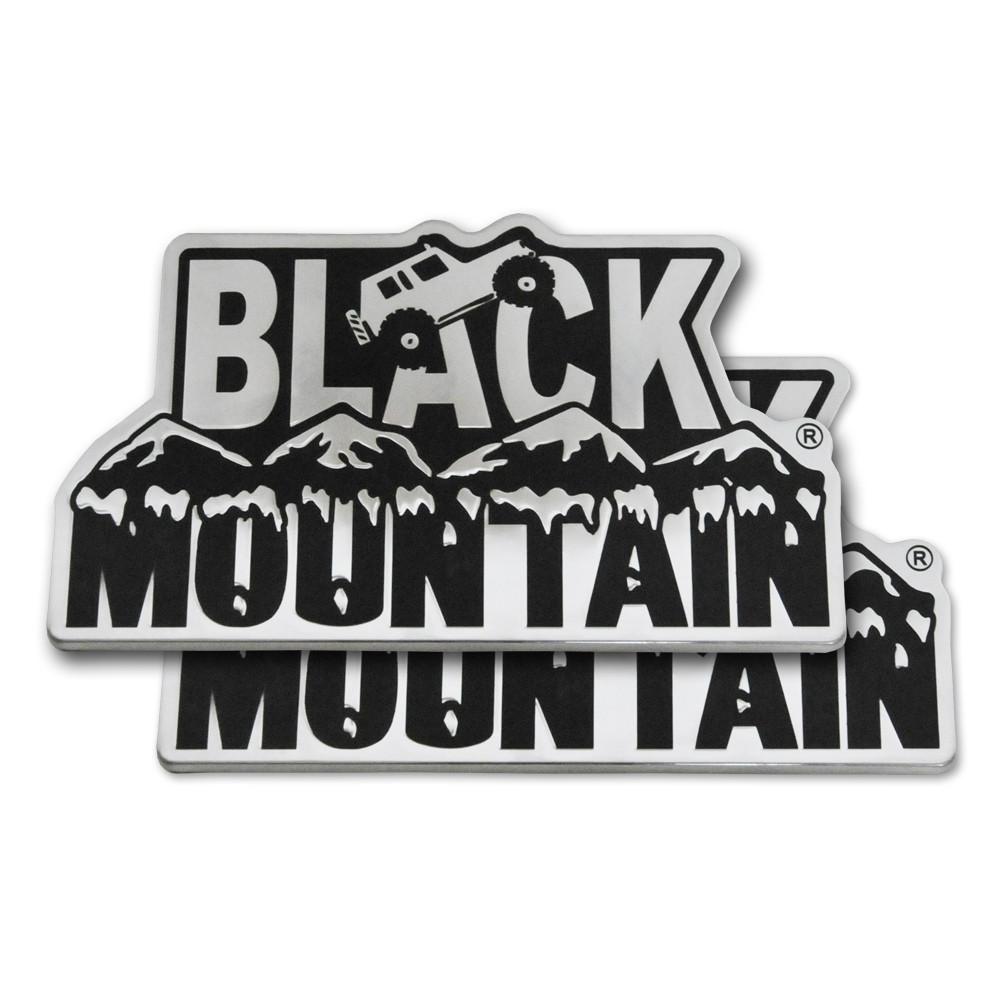 Black Mountain Jeep: Black Mountain Emblem (pair)