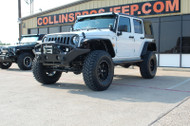 SOLD  2014 Black Mountain Conversions Jeep Wrangler Unlimited Stock# 262635