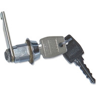 Replacement Cam-Style Lock Assembly w/Keys