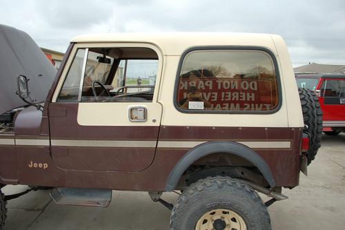 Used Factory Cj7 Hardtop Collins Bros Jeep