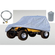 '55-'06 CJ/YJ/TJ 3-Layer Full Car Cover Kit