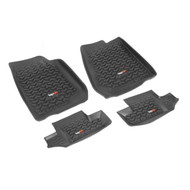'07-Current JK 2dr All Terrain Front & Rear Floor Liner Mat Set