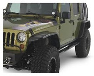 '07-Current JK 2dr Rear Tube Fenders