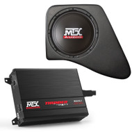"'07-Current JKU MTX Audio 10"" Sub Enclosure w/200W Amp"