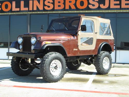 Collins Bros Jeep >> SOLD 1983 Jeep CJ-7 Chestnut Brown Metallic 4x4 Stock ...