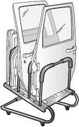 '87-Current YJ/TJ/LJ/JK HOSS Door Cart w/Cover
