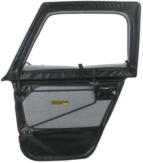 u002766-u002777 Ford Bronco 2-Piece Supertop Soft Doors (Black Crush)  sc 1 st  Collins Bros Jeep & 76-u002786 CJ7 2-Piece Soft Doors for Supertop u0026 Sunrider u2013 CBJeep