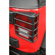 '07-Current JK Black Tail Light Euro Guards