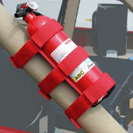 '55-Current Roll Bar Fire Extinguisher Holder (Red)