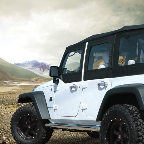 """Black Mountain Jeep: 3/4"""" Leveling Kit For JK Wrangler"""