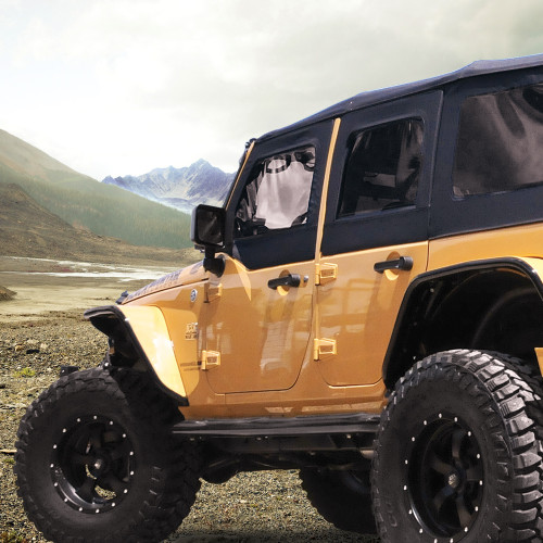 "Jeep Wrangler Lift Kits >> 1"" Body Lift Kit for JK Wrangler – CBJeep"