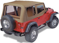 '88-'95 YJ Replacement Top w/Upper Doors & Clear Windows