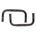 '55-'75 CJ-5 Side Bars w/Step (Black)